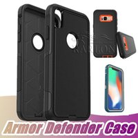 Heavy Duty Rugged Armor Defender Case Hybrid High Impact Bac...