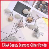 FANA Beauty Diamond Glitter Powder Fana Spray con airbag Beauty Highlighter Shimmer Face eyeshadow 4 colori