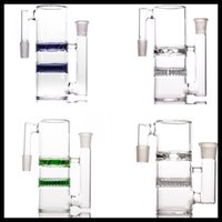 High quality 14mm ash catcher for glass bongs with honeycomb...