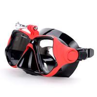 Wassersport Tauchen Maske mit Gopro Berg Ausgeglichenes Gläser für GoPro Held Hd 4, 3 +, 3, 2, 1, Sj4000 Sj5000 Kamera Go Pro