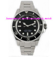 Luxury Watches Wristwatch Ceramic Bezel 44MM 116660 Black Di...