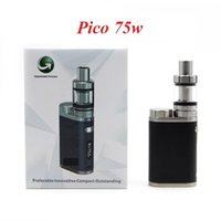 E- cigarette Pico Starter Kit with TC 75W Melo 3 Mini Tanks A...