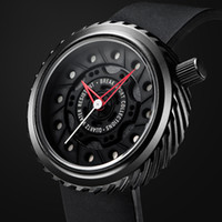 Luxurious sports car Quartz Watch black Silicone strap Men m...