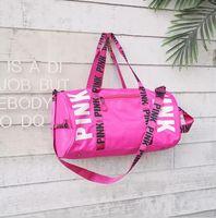 d19c5c2c276 Wholesale victoria secret bags online - NEW hot sale fashion travel pink  duffel bag women men