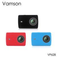 Vamson for Xiaomi for Yi 2 Accessories Silicone Protective C...