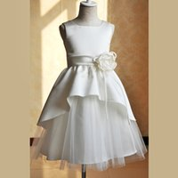 New Arrival Baby Girls Dresses Kids Sleeveless Party Wedding...