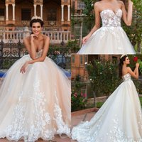 Sexy Backless Wedding Dresses Elegant Lace Appliques Off the...