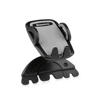 Creative Car CD Mund Handyhalter, Handy Auto mit Mehrzwecknavigation 6p Universal Creative Bracket Clip - schwarz