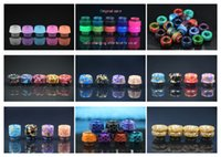 9 Types 2018 Newest Honeycomb 810 Thread Resin Drip Tip Colo...