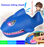 Bite Sharks Child Toy Jokes Novel Laughter Cartoon Tricky Fu...