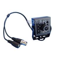 HQCAM 480TVL CCD 미니 CCD 카메라 보이지 않는 10PCS IR 940NM 0 룩스 나이트 비전 카메라 미니 카메라 블랙 적외선 램프 미니 적외선 캠