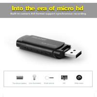 16 GB de memoria incorporada de la cámara mini U-disco, Full HD 1920 * 1080P Mini USB Flash de la cámara duro portátil USB mini DV DVR del disco de destello Cam PQ238