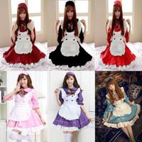 Japanisches Mädchen Kostüm Cosplay Frauen Lolita Anime Kostüm Restaurant Mädchen Uniform Lolita Kleid