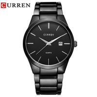Relogio Masculino Curren Luxuxmarken Analog Sport Armbanduhr Anzeige Datum Men 'S-Quarz-Uhr-Geschäfts-Uhr-Mann-Uhr 8106