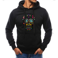 Fashion brand 2018 autumn taro print hoodie sweater casual l...