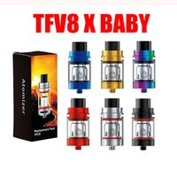 Single SMOKING TFV8 X Baby Tank with 4ml Top Filling Swivel ...