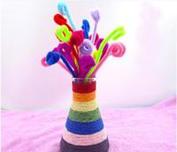 1000 pcs novo criativo pelúcia brinquedos para crianças Montessori Materiais Chenille Quebra-cabeças Brinquedo de Madeira Presente do bebê