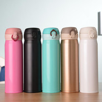 500ml Stainless Steel Double Wall Insulated Cup 6 Colors Vac...