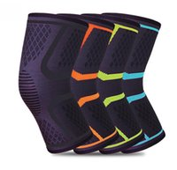 1 пары колено поддержка защиты TIMOWIN бренд фитнес работает Велоспорт брекеты Kneepad эластичный нейлон спорт тренажерный зал колено Pad теплый рукав