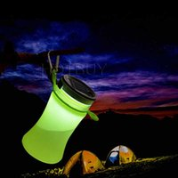 550ml Collapsible Silicone Waterproof Sport Water Bottle Wit...