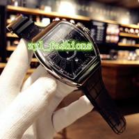 Роскошный бизнес мужские часы размер 42 мм автоматические механические Мужские спортивные часы черный лицо цифровые часы лицо