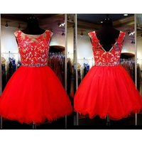 Free Shipping 2019 Sparkly Homecoming Dresses A- Line Bateau ...