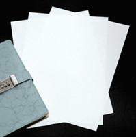 Papier de sécurité 100% coton Coton A4 80gsm Couleur blanche imperméable Starchacide Starchacide peut passer le test du stylo
