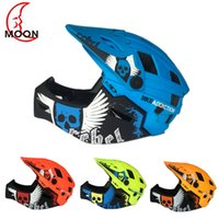 2 In 1 Children Full Covered Helmet Full Face Cycling Motocr...
