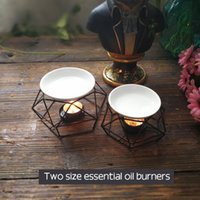 Bird Nest Iron Stand Ceramic Oil Burner Warm tea High Qualit...