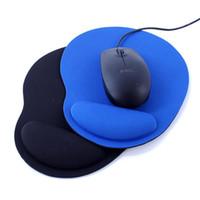 Poignet Protection optique Trackball PC Thicken tapis de souris de soutien du poignet Comfort tapis de souris tapis de souris pour jeu 2 couleurs