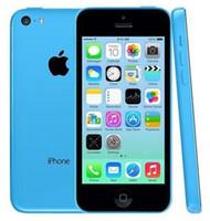 "Original Recurbusted مقفلة Apple iPhone 5C الهاتف الخليوي 16GB 32GB ثنائي النواة WCDMA + WIFI + GPS 8MP كاميرا 4.0 ""الهاتف الذكي"