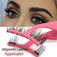 1PC Magnetic Eyelashes Extension Applicator Natural False Ey...