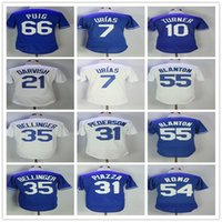 35 Cody Bellinger Mens Baseball Jersey 21 Yu Darvish 10 Just...
