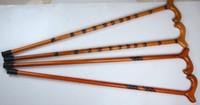 Ahşap koltuk değneği yürüyüş cane kamışı yüksek dereceli eski doğum günü hediyesi toptan maun ahşap sopa