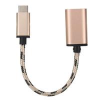 كابل مايكرو USB USB 3.1 نوع C-USB-C OTG كابل USB3.1 ذكر إلى USB2.0 نوع-A الحبل محول أنثى شحن الهاتف المحمول