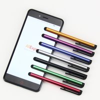 Lápiz óptico capacitivo universal para Iphone 6 5 5S Lápiz táctil para el teléfono celular para tabletas de diferentes colores 3000pcs / lot