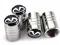 Auto Auto Wheel Wheel Valves Emblèmes Badge pour INFINITI 950 fx35 qx70 g35 fx g37 q30 ex35 Accessoires Pneus de voiture