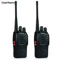 2Pcs For BAOFENG BF- 888S Portable Walkie Talkie UHF Two Way ...
