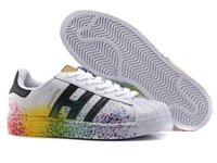 the latest 4554f 048f2 2018 Superstar Original White Hologram Iridescent Junior Oro Superstars  Sneakers Originals Super Star Women Uomo Sports