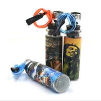 Novo tubo de vidro portátil adesivo tubulação de filtro de água