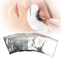 Patch per l'idrogel sottile per l'estensione delle ciglia sotto la zona degli occhi Gel senza peluria Pad Maschera per l'umidità Occhielli per ciglia Adesivi di carta Involucri