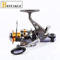 Venta caliente de alta calidad más barato Spinning Reel carrete de la pesca 1000-9000 Series Pre-Loading Spinning Wheel Ball Bearing Carretes 04