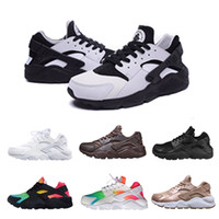 Classic Huarache running shoes For Men & Women, Rainbow Red W...