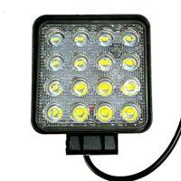 PAMPSEE 2 pz 4.2 inch 12 V 24 V 48 W 3840lm off road Spot / Flood Piazza LED Luce di Lavoro per auto Camion Veicolo Barca di guida