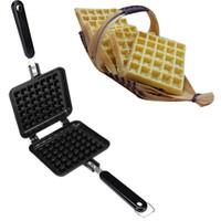 Household Waffle moule gâteau non bâton Biscuits bricolage Bakeware moule cuisine cuisson outil de haute qualité de C