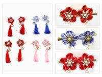 2018 Hot WholesaleNew Tassel Hair Clip Cotton Material Hair ...