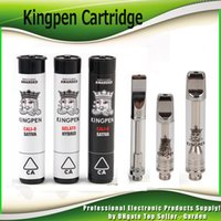 Kingpen 710 Cartridge 0. 5ml 1. 0ml Dual Cotton and Ceramic Co...