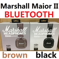 Marshall Major II 2.0 Bluetooth Casque Sans Fil DJ Casque Deep Bass Isolation Du Casque Écouteur pour iPhone Samsung Smart Phone