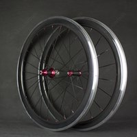 Cheap 38mm 700C Wheels Road Bike 38mm U Shape Full Carbon Fi...