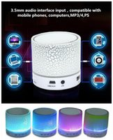 A9 led mini alto-falantes portáteis sem fio bluetooth speaker handsfree com tf usb fm mic blutooth música para android iphone